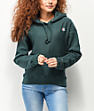 Champion Reverse Weave Lakeside Green Hoodie