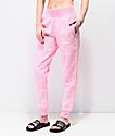 Champion Script joggers rosas de tejido inverso