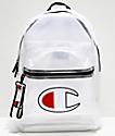Champion Supercize 2.0 mochila blanca transparente
