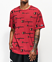 Champion Wrap Around Script Cherry T-Shirt