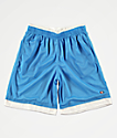 Champion shorts de baloncesto en azul y blanco