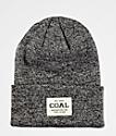 Coal Uniform Black Marl Beanie