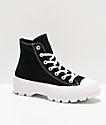Converse CTAS Hi Black Lugged Shoes