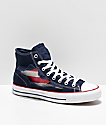 Converse CTAS Hi Rip-Through American Flag Obsidian zapatos de skate