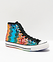 Converse Chuck 70 Pride Sequin Rainbow & Silver Shoes