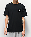 Converse Left Chest Star camiseta negra