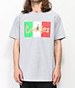 Cookies Con Safos Flag camiseta gris