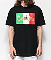 Cookies Con Safos Flag camiseta negra