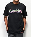 Cookies Peruvian Logo camiseta negra