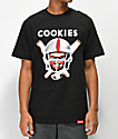 Cookies x Chucky Helmet camiseta negra