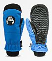 Crab Grab Slush mitones de snowboard en azul