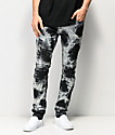 Crysp Denim Montana Splotchy jeans de lavado acido