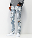 Crysp Montana Scribbles Denim Jeans