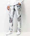 Crysp Montana jeans de mezclilla sucios y blanqueados