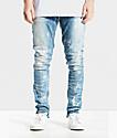 Crysp Pacific jeans ajustados con lavado de piedra