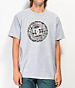 DC Circle Star 2 camiseta en gris y camuflaje