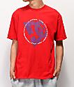 DC Fourtex camiseta roja