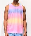 DGK Venice camiseta sin mangas rosa y azul