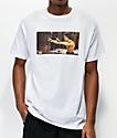 DGK x Bruce Lee Nunchucks camiseta blanca