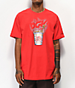 DGK x Cup Noodles Heat Red T-Shirt