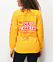 DGK x Cup Noodles Logo Gold Long Sleeve T-Shirt