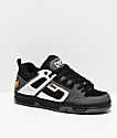 DVS Comanche zapatos de skate blancos, grises y negros
