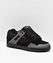 DVS Enduro 125 zapatos de skate en negro, gris y rojo