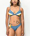 Damsel Winterfell braguitas de bikini brasileñas azules