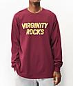 Danny Duncan Virginity Rocks camiseta borgoña de manga larga