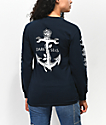 Dark Seas Lost Love camiseta azul de manga larga