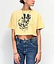Dark Seas x Daggerz Tecate camiseta corta amarilla