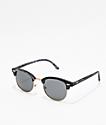 Dark Wood Clubmaster Sunglasses