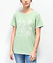Desert Dreamer Light Flowers Sage T-Shirt