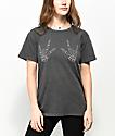Desert Dreamer Skeleton Hands camiseta negra