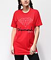 Diamond Supply Co. OG Sign Red Boyfriend T-Shirt