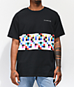 Diamond Supply Co. Pixel Panel camiseta negra