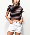 Dickies Baby Stripe camiseta corta negra