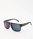 Dot Dash Sidecar gafas de sol de cromo gris y verde translúcido