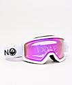 Dragon DX3 OTG White & Pink Ion gafas de snowboard