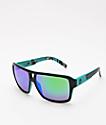 Dragon The Jam Jet gafas de sol en verde azulado y Ion verde