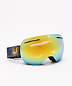 Dragon X1 Golden Palms & Gold Ion gafas de snowboard