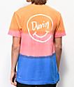 Duvin Smile  Orange Tie Dye T-Shirt
