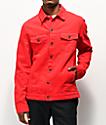 Empyre Ace chaqueta de mezclilla roja