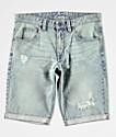 Empyre Albany shorts de mezclilla desgastados