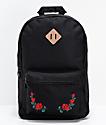 Empyre Brenda Roses Black Backpack