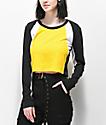 Empyre Drift camiseta de manga larga amarilla y negra