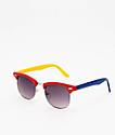 Empyre Emry gafas de sol azules, rojas y amarillas