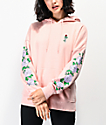 Empyre Fredia Rose Light Pink & Lavender Hoodie