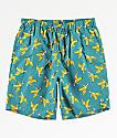 Empyre Grom Banana shorts de baño azules