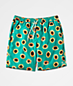 Empyre Grom Green Board Shorts